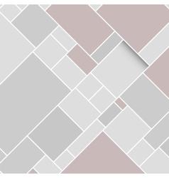 Grey rectangular structured background vector