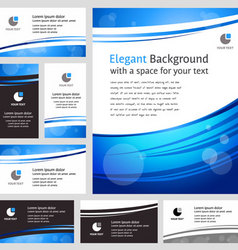 modern template vector image vector image