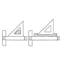 Section lining device rough and uneven in the vector