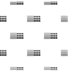 Stack of precast reinforced concrete slabs pattern vector