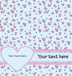 design invitation card vector image vector image