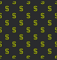 Dollar pattern vector