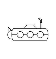 submarine icon image vector image vector image