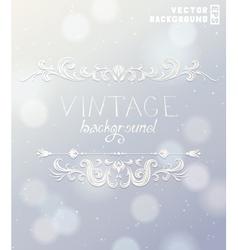Vintage label for holiday design vector