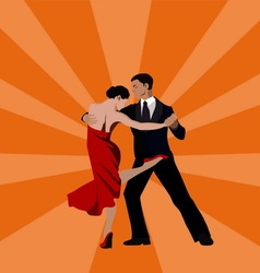 International tango day vector