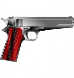 small pistol vector image