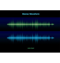 Stereo waveform vector