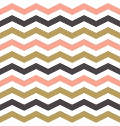 Seamless zigzag pattern in pastel colors vector