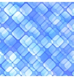 Blue Abstract Squares Background vector image vector image