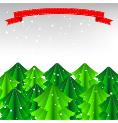 Merry Christmas Card or Background vector image vector image