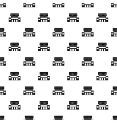 Shop pattern simple style vector