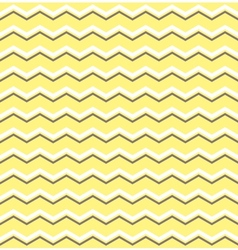 Tile pattern with white and brown zig zag print vector image