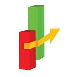 Yellow arrow vector