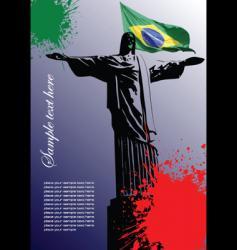 Brazilian image vector image