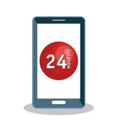 Customer service agent working online vector