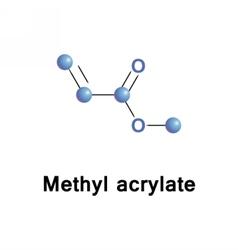 Methyl acrylate ester vector