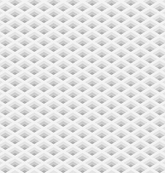 Perspective grid with square holes seamless vector image