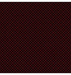 Seamless mesh pattern in red and black vector