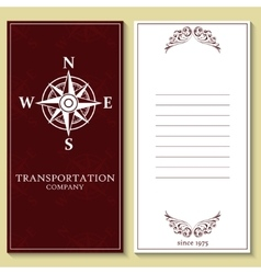 Transportation labels on yellow background vector