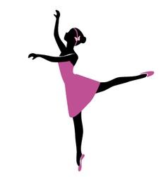 Ballerina 6 vector