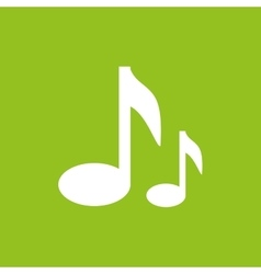 music notes design vector image vector image