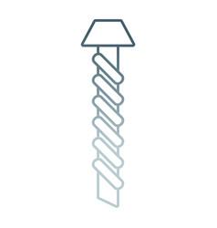screw vector image