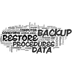 What you should know about data backup and vector
