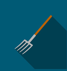 Pitchfork icon of for web and vector
