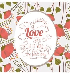 Vintage message design vector