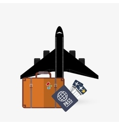 Travel design editable vector