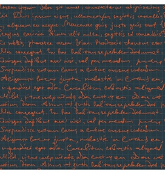 seamless handwritngs on cell pattern vector image
