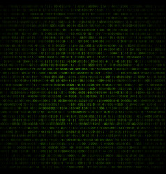 Binary code abstract background vector