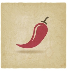 chili old background vector image vector image