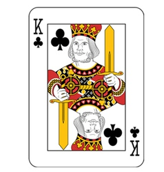 King of Clubs vector image vector image