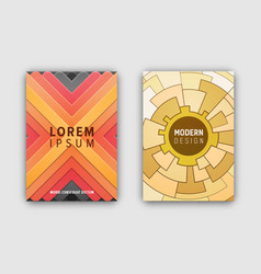 modern design cover mosaic vector image