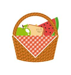 picnic concept design vector image