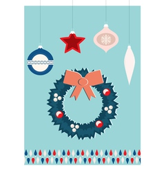 christmas jewelry vector image