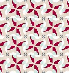 Abstract seamless pattern motif background vector