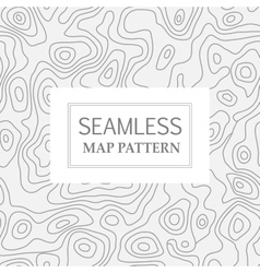 Seamless repeating map vector image