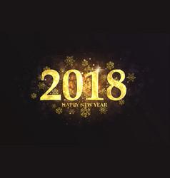 holiday new year card vector image