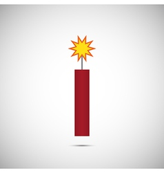 Fire cracker for chinese new year vector
