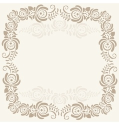 Abstract geometric lace pattern background vector image vector image