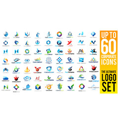 Business Corporate Logo Set vector image