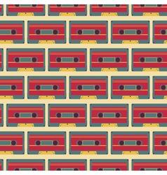 Casette pattern vector