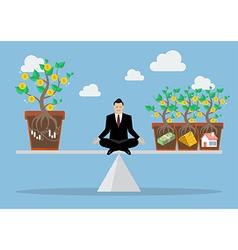 Rebalancing portfolio asset allocation vector