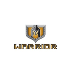 Spartan warrior helmet shield retro vector