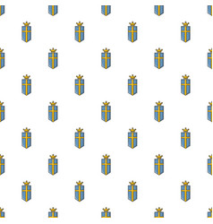 Sweden crown pattern seamless vector