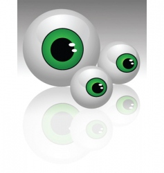 2008208 eyes vector image vector image