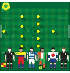 World cup 2014 group c vector