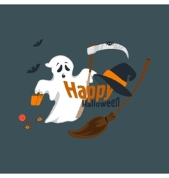 Fun for halloween flat design vector